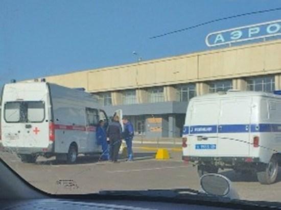 Аэропорт Читы эвакуировали