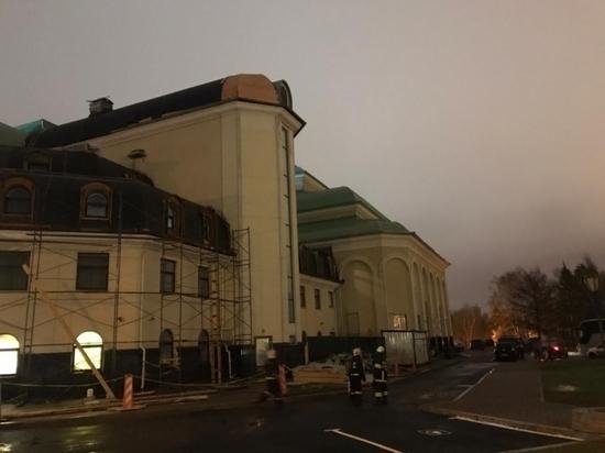 В Уфе случился пожар в здании Башдрамтеатра