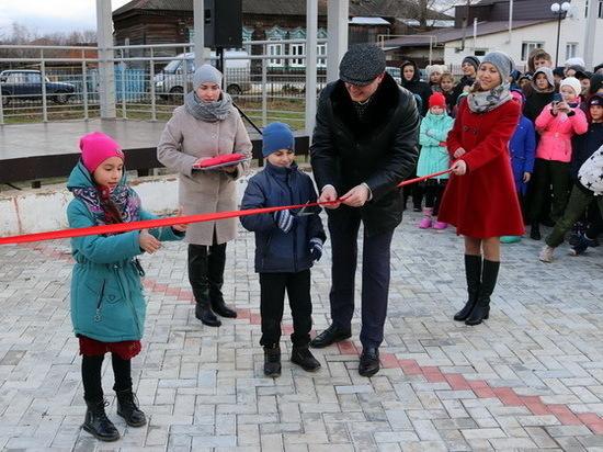 В Козьмодемьянске после реконструкции открылся парк