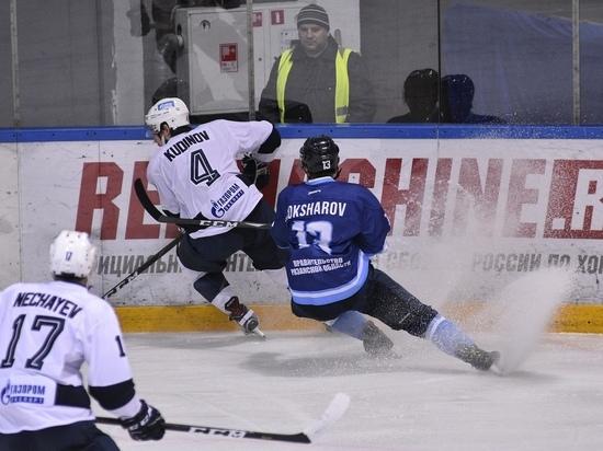 ХК «Рязань» дома обыграл лидера чемпионата
