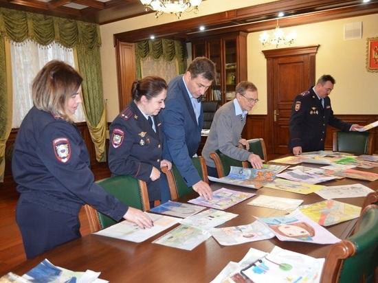 В Ивановской области завершился конкурс детского рисунка «Мои родители работают в полиции»