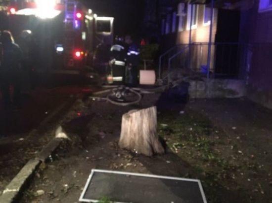 В калмыцкой столице в жилом доме произошел взрыв газа