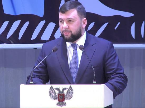 Пушилин пообещал ответить Украине на ввод украинской полиции в Петровское