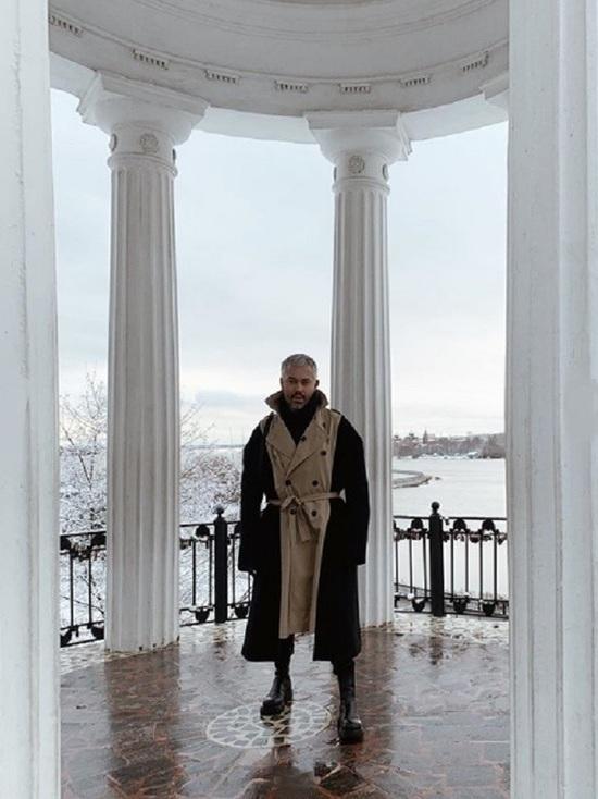 В Ярославле прогуливался стилист Александр Рогов