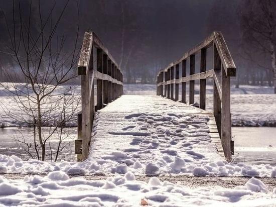 В селе Шуерецкое построят новый мост взамен сгоревшего летом