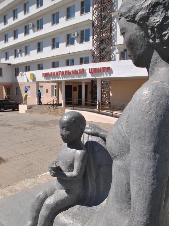 В столичном перинатальном центре Калмыкии порвало трубу отопления