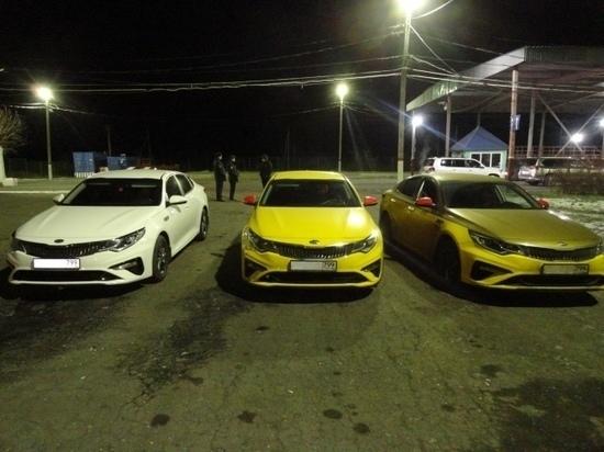 В Оренбуржье были задержаны подозрительные автомобили