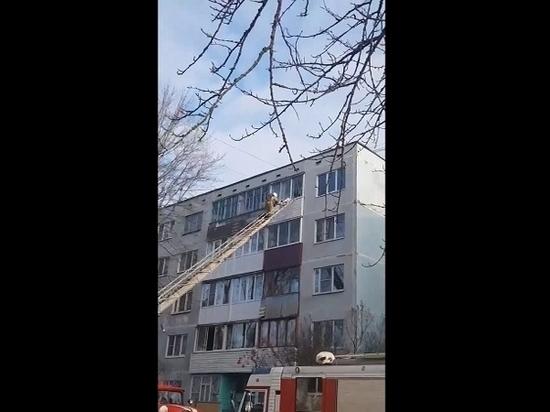 Квартира на Алтаева загорелась из-за телефонной зарядки