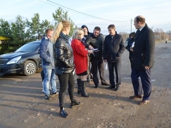 Комиссия администрации Серпухова проинспектировала деревню Шепилово
