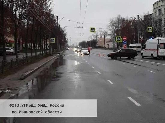 В Иванове на переходе сбили школьника