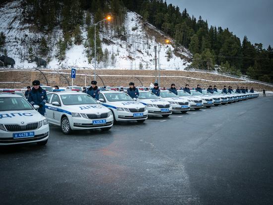 Автопарк ГИБДД Югры пополнился новыми автомобилями