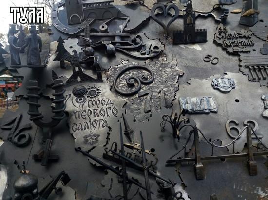 Тульская область в образе кренделя появилась в Симферополе