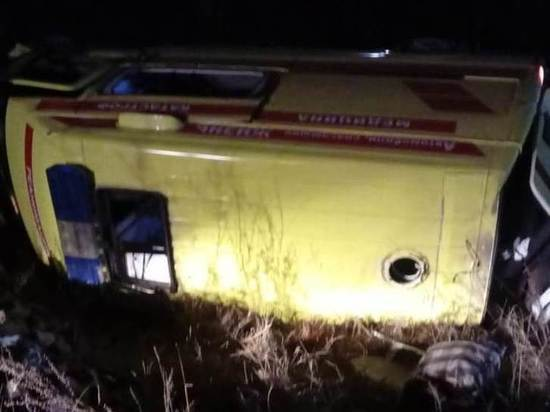 В аварии со скорой под Читой, где погибла медсестра, пострадала женщина