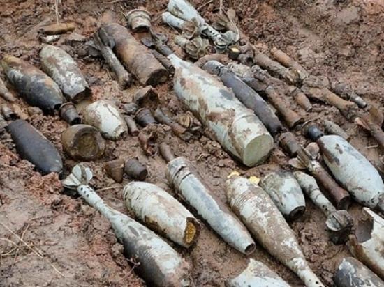 На полигоне под Волгоградом саперы обезвредили 50 боеприпасов