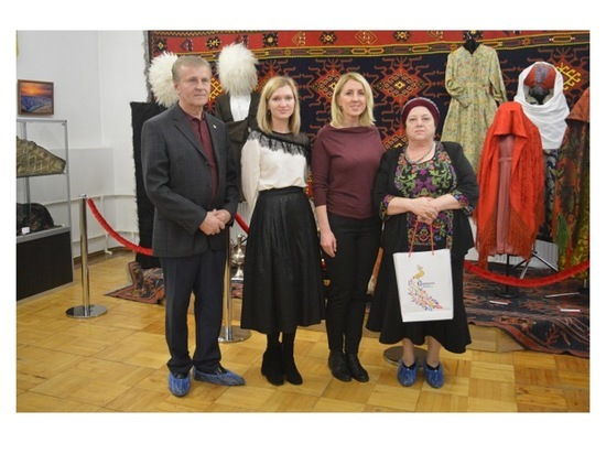 Выставочный проект «Оберег и красота» завершил свою работу в Серпухове