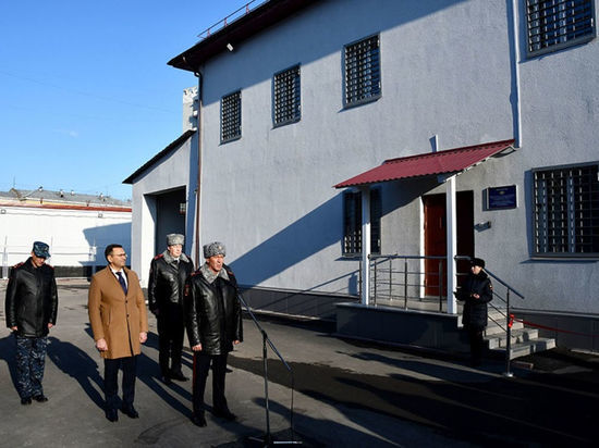 Двухэтажный изолятор временного содержания открыли в Новокузнецке