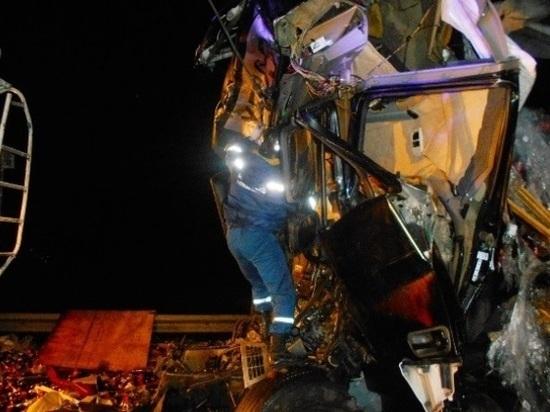 В Ростовской области водитель грузовика погиб в ДТП