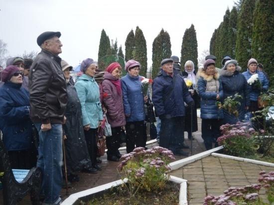 В Серпухове почтили память жертв политических репрессий