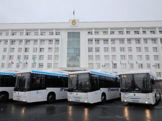На уфимские маршруты выйдут современные экологичные автобусы