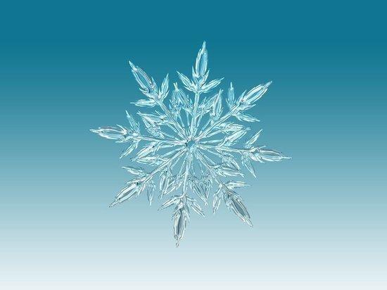 Создана самая маленькая в мире снежинка