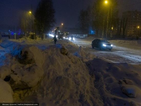 Новый подрядчик утонул в первых же снегопадах в Архангельске
