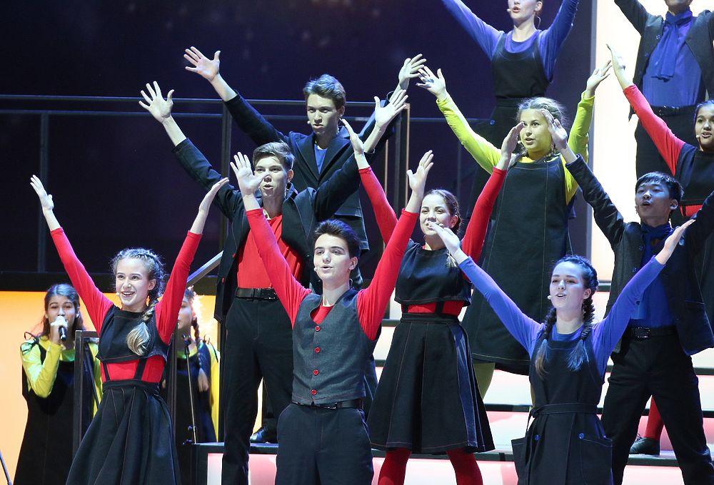 Московский Детский музыкальный театр юного актера отметил юбилей