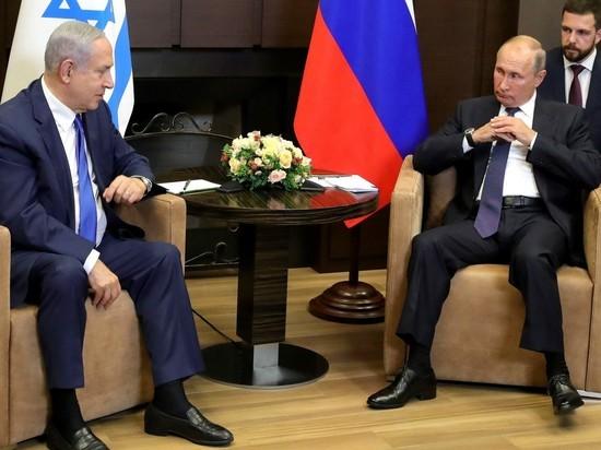 Bloomberg: Путин не хочет делать Нетаньяху «подарок» к выборам
