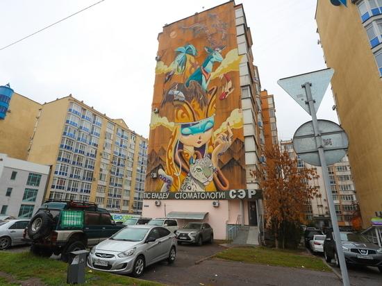 Алматы превратился в город-галлерею
