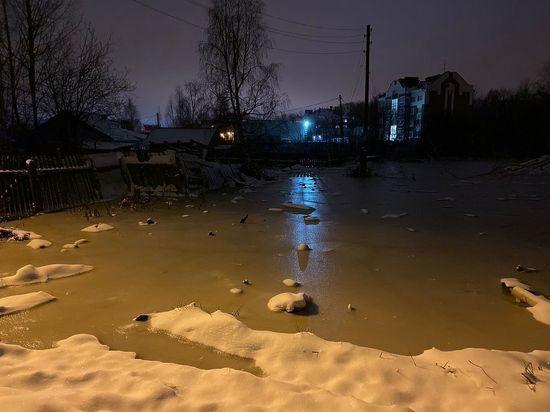 Ущерб от осеннего паводка подсчитывают в Вологодской области