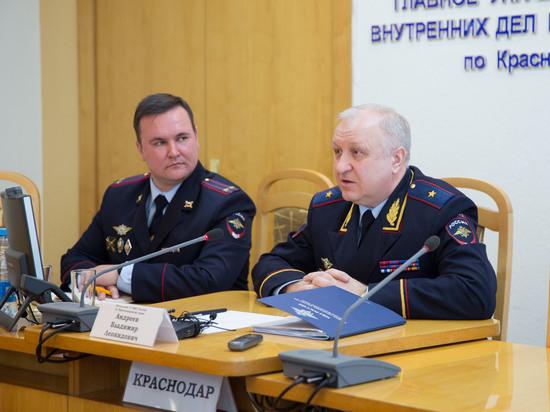 Глава ГУ МВД Кубани Андреев: «Никакой палочной системы у нас нет и не будет»