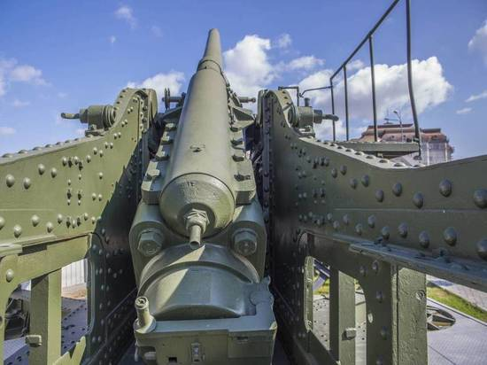 В Воронежской области уничтожили снаряд от уникального орудия