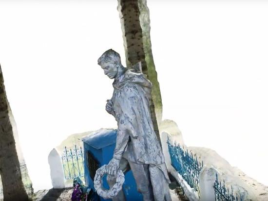Опубликовано видео первой в Тверской области 3D модели воинского мемориала