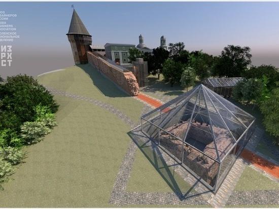 В Смоленске представят проекты благоустройства крепостной стены