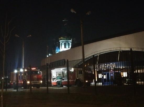 В Смоленске горел Ледовый дворец
