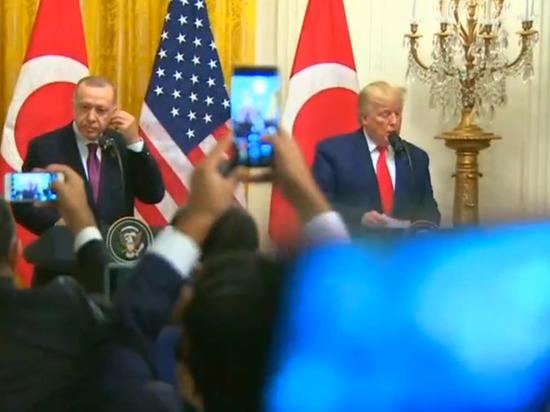 Трамп и Эрдоган поручили министерствам проанализировать ситуацию с С-400