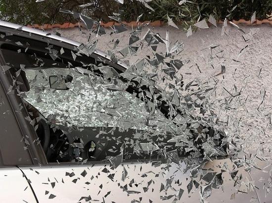 В Улан-Удэ в перевернувшейся иномарке пострадал водитель
