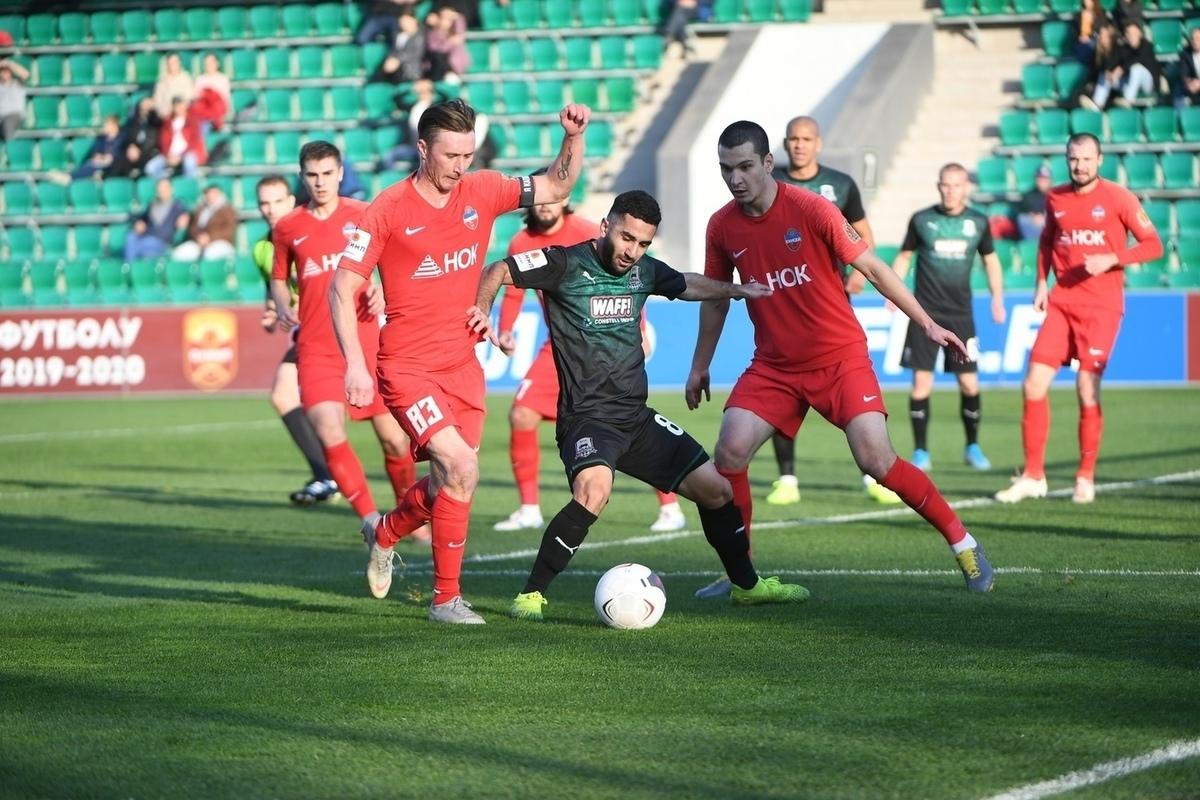 «Енисей» разгромно проиграл клубу из Краснодара