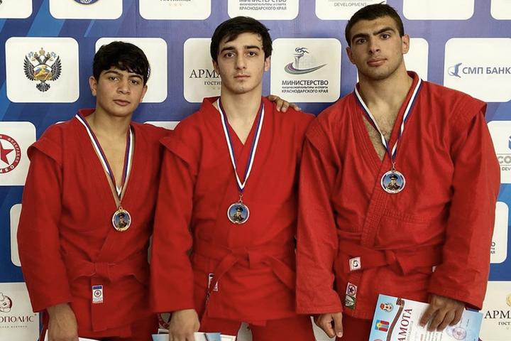 Самбист из Железноводска взял «золото» всероссийских соревнований