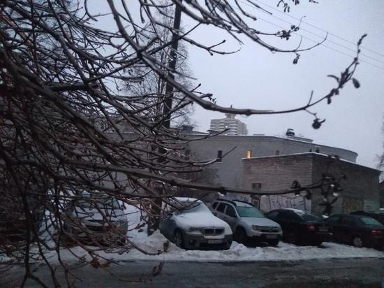 В Архангельской области резко потеплело – на улице сплошные лужи с ледяным дном