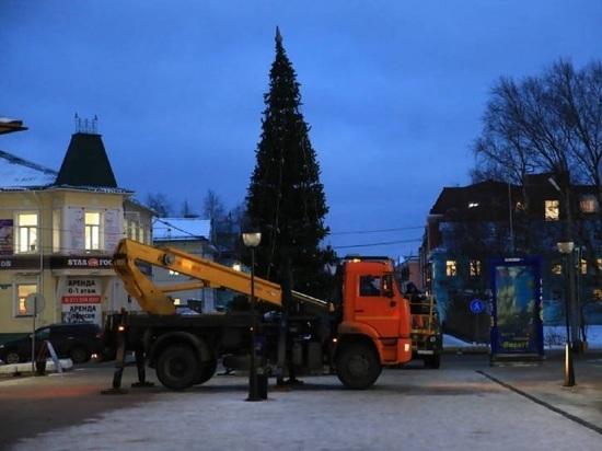 Архангельская новогодняя ёлка зажжёт огни уже в следующую субботу