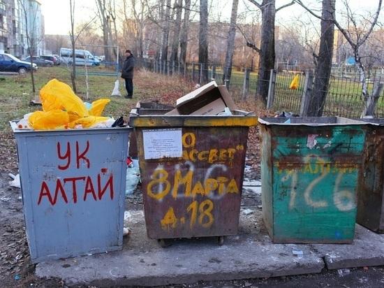 В Бийске снят режим ЧС, который был объявлен из-за мусорного коллапса