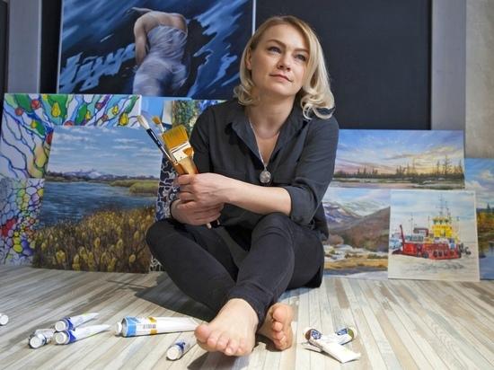 Неповторимый край: художница из Салехарда рассказала о своих картинах