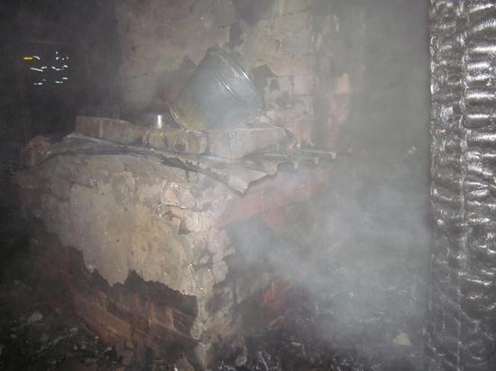 При пожаре в Нолинском районе погибли два человека