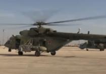 Группа боевых вертолетов ВКС России перебазировалась с базы Хмеймим на аэродром Камышлы на севере Сирии
