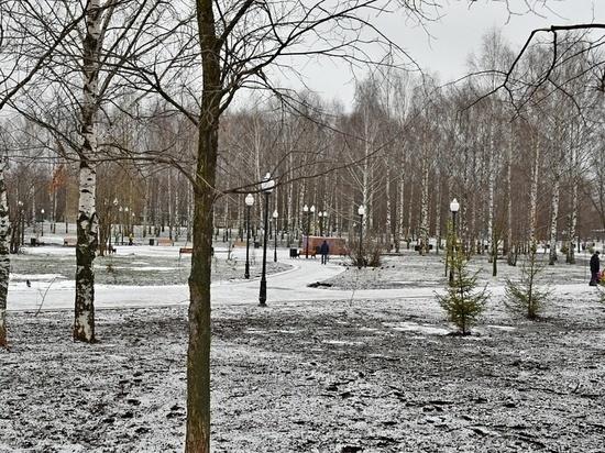 В Кочуровском парке доделали ливнёвку