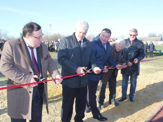 В Чучкове ветеран ВОВ принял участие в открытии спортплощадки