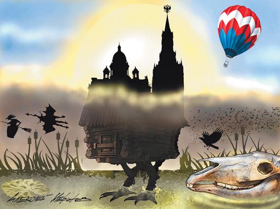 Розовая кремлевская фея