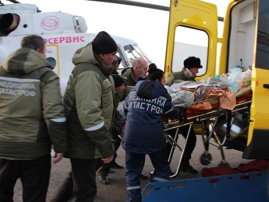 Две забайкалки после ДТП остаются в тяжелом состоянии в больнице Агинского