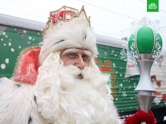 В гости к тюменским детям едет Дед Мороз