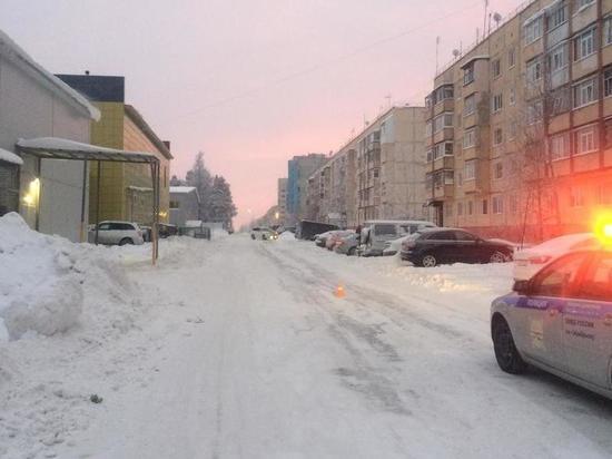 Иномарка сбила женщину в Ноябрьске